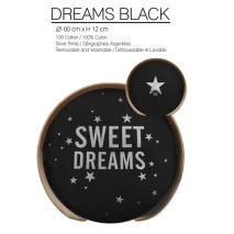 PILLOW Dreams Black (Only pillow)
