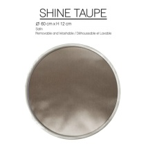 PILLOW Shine Taupe