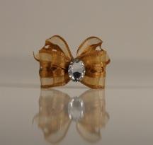 1 Bow Gold w. Heartdetails
