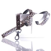 Leopard Leash - Brown