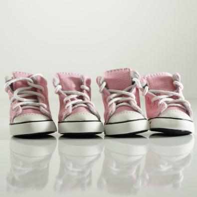 Pink sport shoes 4 Pcs