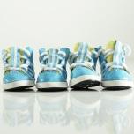Blue Sport shoes 4 pcs