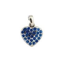 Charm Blue Heart