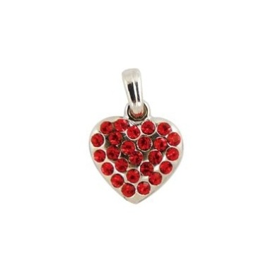 Charm Red Heart