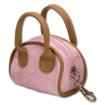 Pink Poobag holder