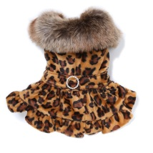 Leopard Dress Coat
