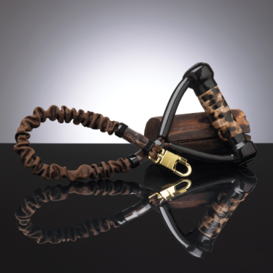 LEVIN LEOPARD ANTI-SHOCK LEASH