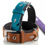 Collar Suede Turquoise