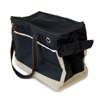 Black/Beige Bag Canvas