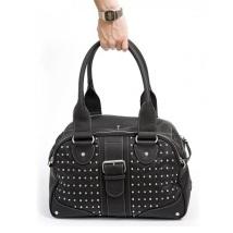 Leather Bag Miami Chic - Black