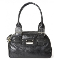 Leather Bag London Chic - Black