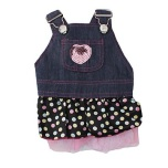 Dotted Dress with glitter heart