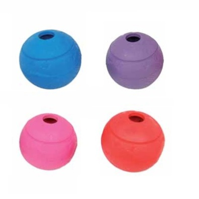 Toy maze ball rubber
