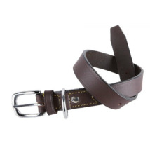 BROWN OLD LEATHER COLLAR