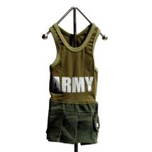 Army girly dress
