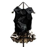 Leopard rose dress