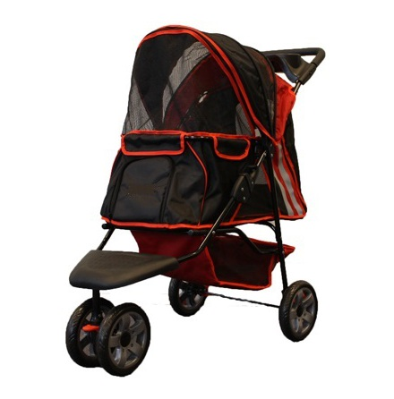 Buggy Max weight: 12,5KG - Red/Black