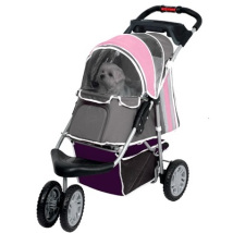 Buggy Max weight: 20KG - Pink/Grey