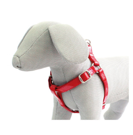 GLOSSY HARNESS RED - ADJUSTABLE