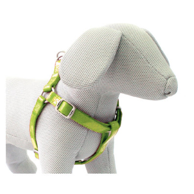 GLOSSY HARNESS GREEN - ADJUSTABLE