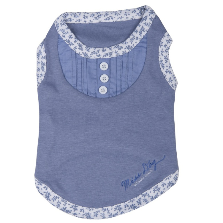T-Shirt Girly Soft Blue