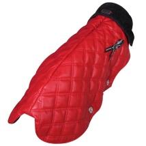 COAT GROOVY RED