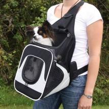 Front Carrier Bag Black/Grey