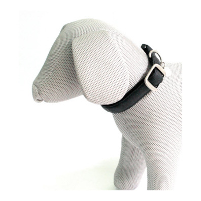 SOFT COLLAR IN BLACK - ADJUSTABLE
