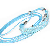 Show Leash Blue