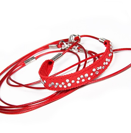 Show Leash Red