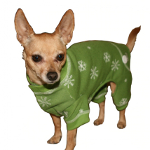 Green Dog pyjamas