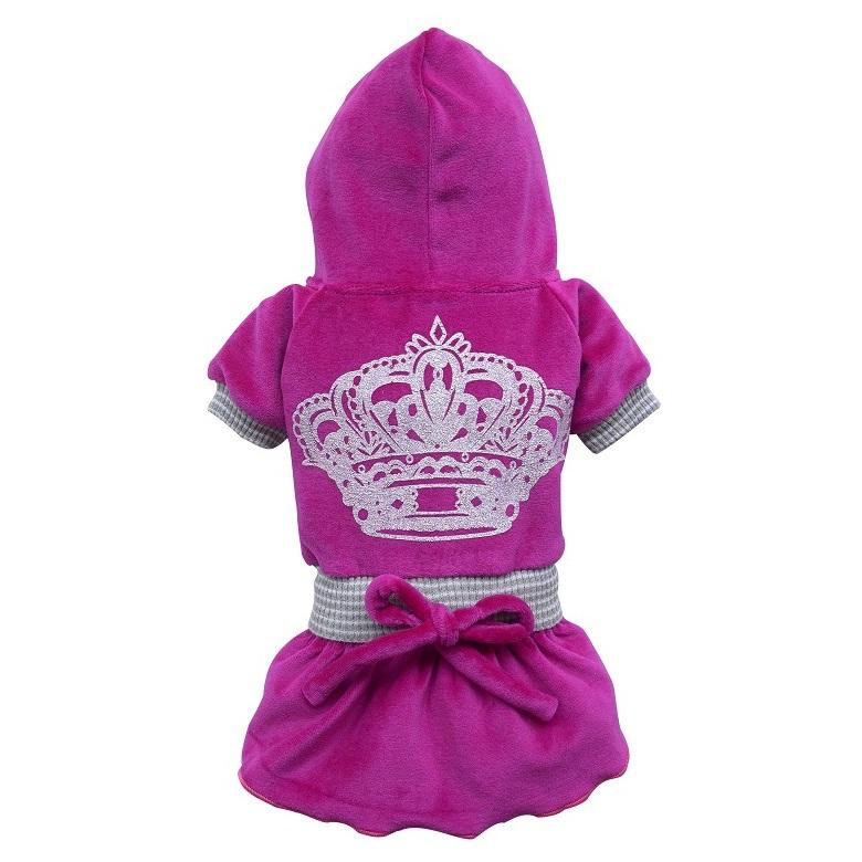 Dress silver crown pink/purple