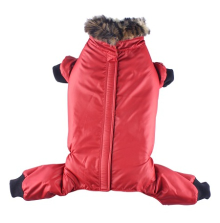 Red jacket 4 legs