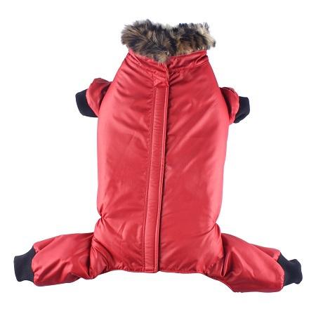 Red jacket 4 legs