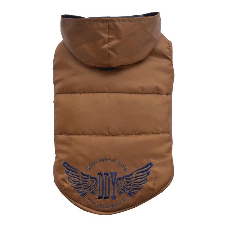 Big Dogs Brown jacket w wings