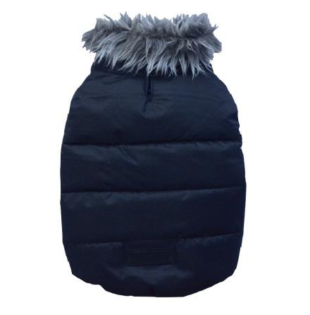 Big Dogs Black jacket with fur