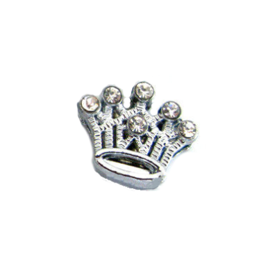 Charm Crown - White
