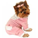 Baby Pink Dog pyjamas