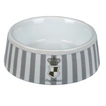 Porcelain Bowl - Grey/White