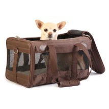 DELUXE Travel Bag - BROWN