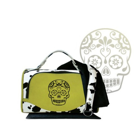 Green Skull Pet Carrier
