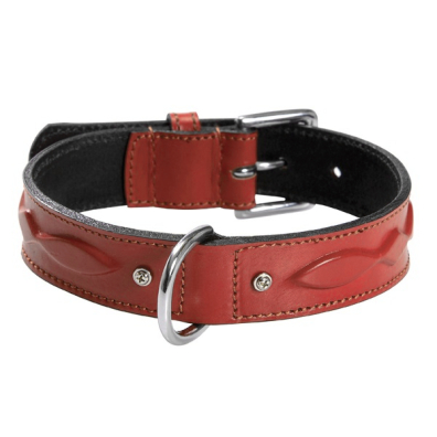 Collar w Relief - Red