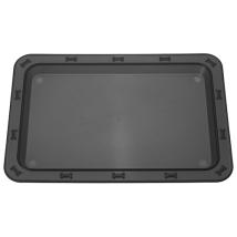 Tray/Mat Bone - Black   (no logo on the tray)
