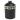 Food/Snack Porcelain Jar - Black H:23cm
