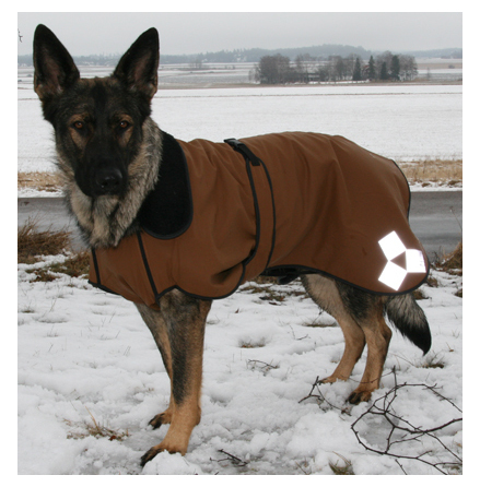 Dog Coat - Brown