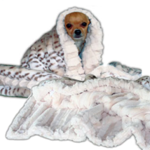 Cuddle Blanket Ice Leopard
