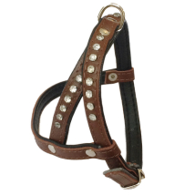 Leather Harness - Brown