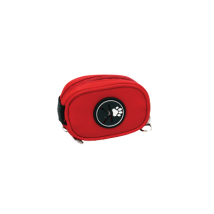 Poobag holder red
