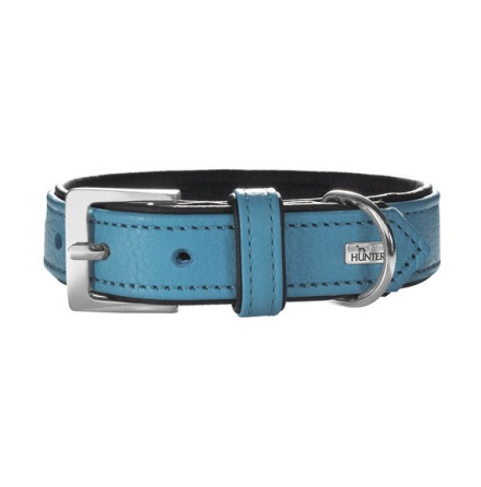 Leather Seablue Collar