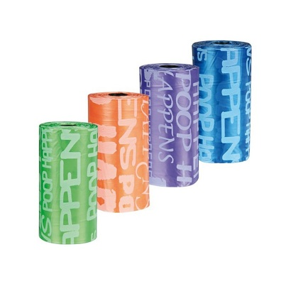 Poobags refill Color mix - Letters